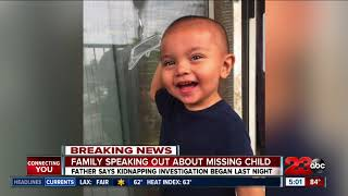 Father of missing two year old boy  speaks out about disappearance