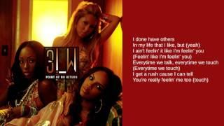 3LW: Feelin' You (Lyrics)