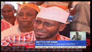 Council of elders in Wajir endorsed Governor Ahmed Abdullahi while another section endorse his rival