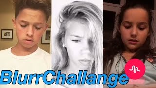 #BlurrChallange Musical.ly Challenge Compilation