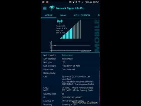 Video of Network Signal Info Pro