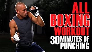 30 Minute All Boxing Back Yard Boxing Workout