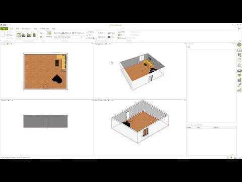 Software 3d gratuito per la progettazione d for Progettazione interni software