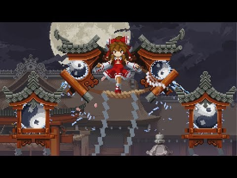Touhou Luna Nights - Extra Boss Reimu [No Damage/Time Stop/Snail Time/Skills] + Extra Ending