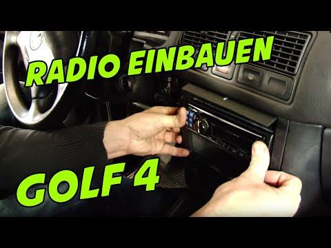 Autoradio einbauen im VW Golf 4 || Tutorial || 1-DIN-Autoradio || Was brauche ich für Adapter?