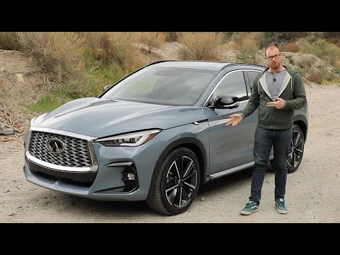 2022 Infiniti QX55 Test Drive Video Review