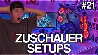 Die BESTEN Gaming Setups von meinen ZUSCHAUERN! (Teil 21)