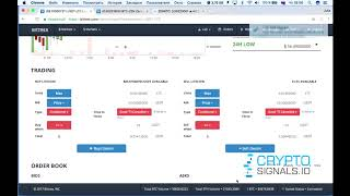 Take profit, stop loss and pending orders on the Bittrex exchange bittrex com