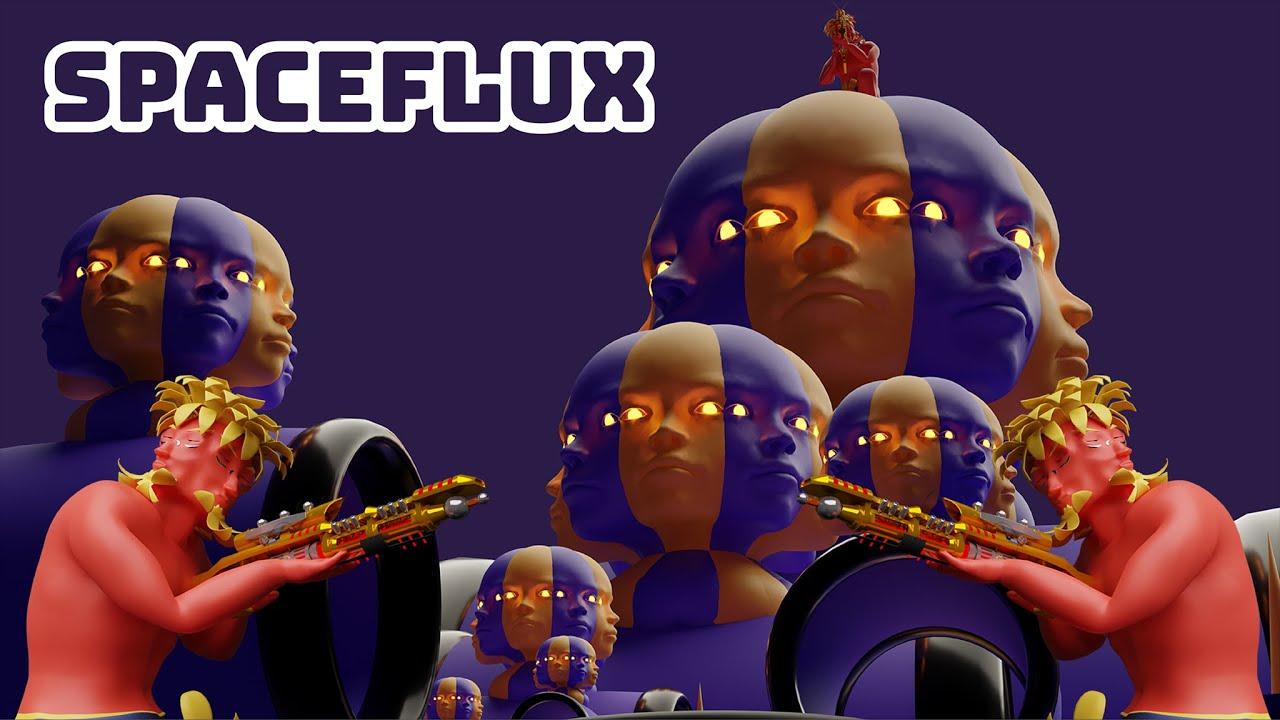 Spaceflux: un juego de acción en un mundo fractal