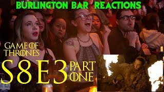 "Game Of Thrones // Burlington Bar Reactions // S8E3 ""The Long Night"" Part 1!"