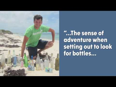 This man has found 80 messages in bottles, and counting