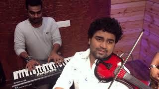 Adiga Adiga |Ninnu Kori| Abhijith P S Nair|Gopi Sundar| Telugu Violin Cover
