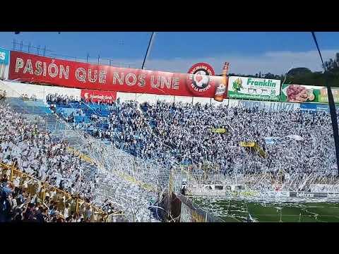 """""""Recibimiento contra fas"""" Barra: La Ultra Blanca y Barra Brava 96 • Club: Alianza"""