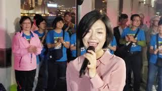[完場曲] 愛我的人和我愛的人(新歌首唱),有誰共嗚,舊夢何處尋,我只在乎你,完場花絮.   香港旺角小龍女 龍婷 @中環10號碼頭 04/11/19 Stacey Long