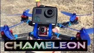 "Armattan Chameleon Firefly 7S Action Camera Test FPV Frame 5"" Mild Range Run"