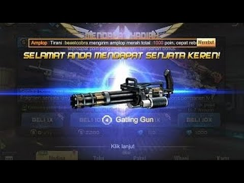 Video Cara gampang dapatkan gatling gun