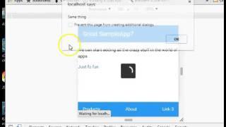 Framework7 Tutorual   10   Page manipulation using Javascript