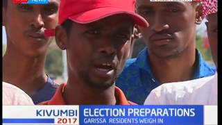 Election Preparation : Garissa residence preach  ahead of elections