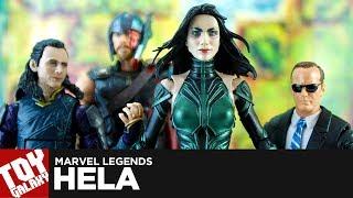 Marvel Legends Gladiator Hulk Wave Hela Review