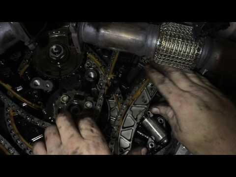 Audi A6 4G C7 3.0 TDI Steuerkette Kettenspanner defekt
