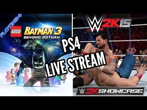 Herní Live Stream - WWE 2K15 & Lego Batman 3 Beyond Gotham