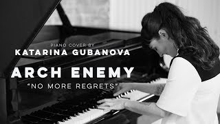 Arch Enemy - No More Regrets - metal piano cover by Miss Key - Piano tribute to Arch Enemy