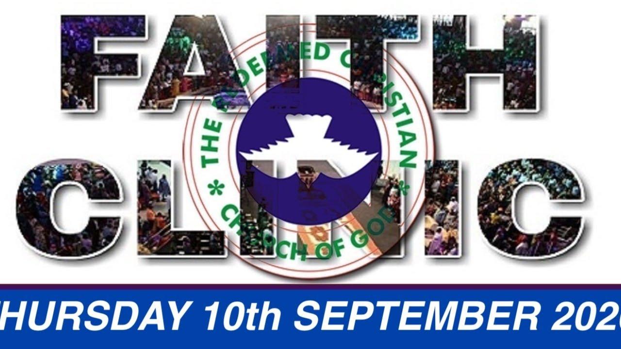 RCCG 10th September 2020 Faith Clinic, RCCG 10th September 2020 Faith Clinic – He Changeth Not