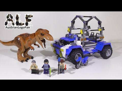 Vidéo LEGO Jurassic World 75918 : La poursuite du T-rex