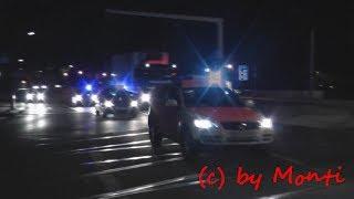 preview picture of video 'FuStW Polizei Sachsen + KdoW A-Dienst + KdoW Führungsdienst + KdoW LBF Feuerwehr Hamburg (HD)'