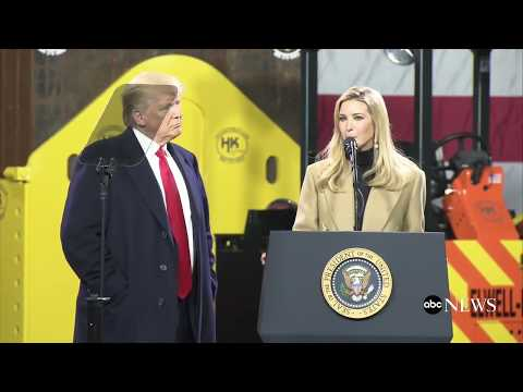 Pres. Donald Trump delivers remarks at H&K Equipment Company in Coraopolis, Pennsylvania | ABC News