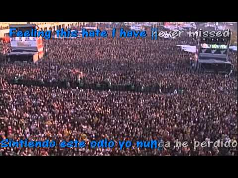 One step closer - [pfm - 1stp Klosr ] - Rock am ring 2004 - Subtitulado