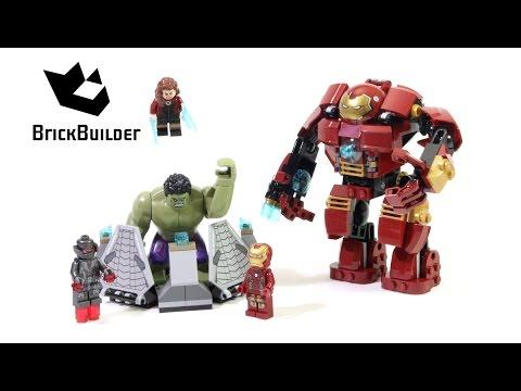 LEGO® Super Heroes Разгром от Халкбастера 76031