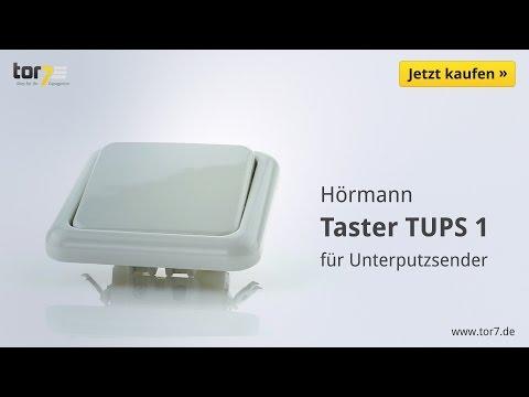 Hörmann Innentaster TUPS 1 für Unterputzsender