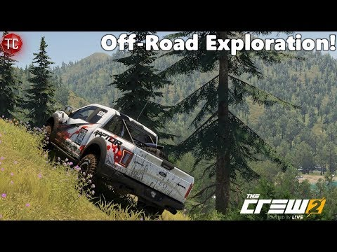The Crew 2: PC - Off-Road Exploration! BEAUTIFUL MOUNTAINS!!
