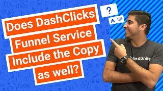 Does DashClicks Funnel Service Include the Copy as well?