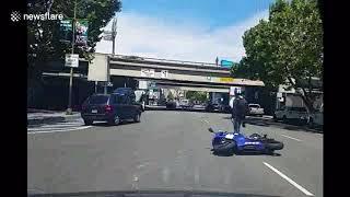 Мото аварии 2017 Август  - Сентябрь Moto crash 2017 August - September