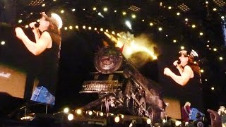 "AC/DC - INTRO + ROCK 'N' ROLL TRAIN - München 15.05.2009 (""Black Ice""-Worldtour)"
