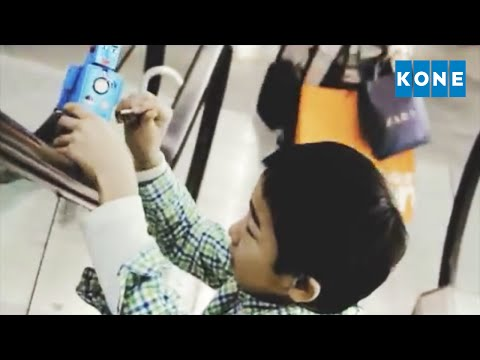 KONE ESCALATOR SAFETY VIDEO