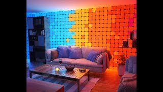 Color Changing Light Panels - Nanoleaf Canvas Smarter Kit