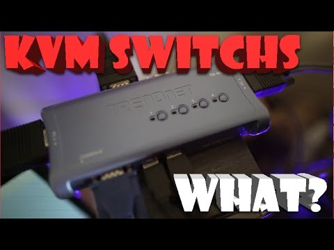 KVM Switch | What is A KVM? | How Does It Work?