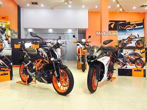 KTM 250 Duke - KTM RC250 | MotoSaigon.vn