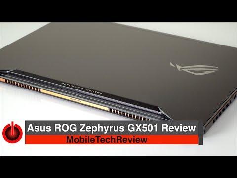 Asus ROG Zephyrus GX501 Review – GTX 1080 Max-Q Portable Powerhouse