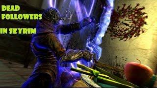 Skyrim-  dead thrall (level 90 master conjuration