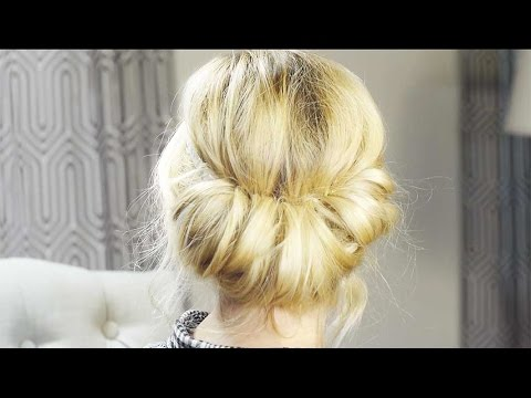 How To - Vintage Rolled Hair Tutorial| Milabu