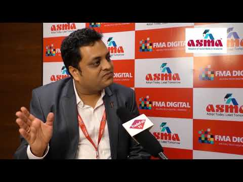 Mr. Rahul Jain, Co-Founder FMA Digital and Project Director-ASMA at ASMA Annual Convention 2017