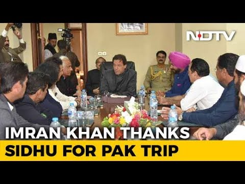 Imran Khan Thanks Navjot Sidhu, Has Message For His Critics In India
