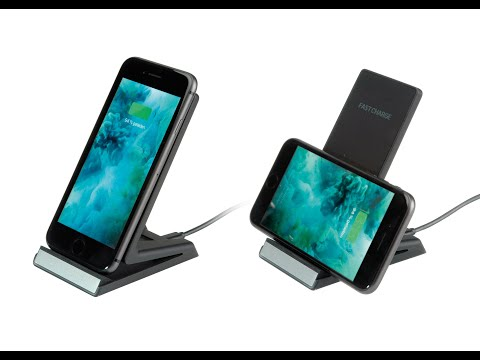 ROLINE Qi-Charging Stand for Smartphones or Tablets