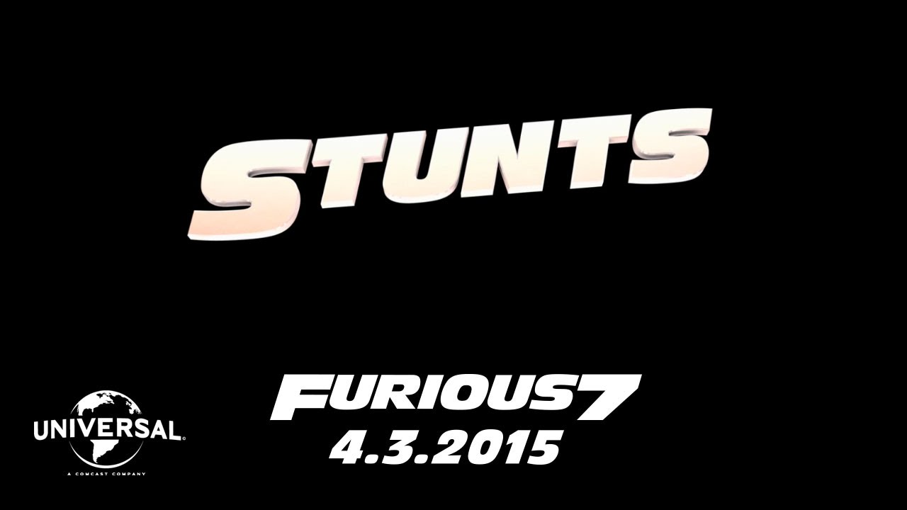 >The Road to Furious 7 - Stunts (HD)