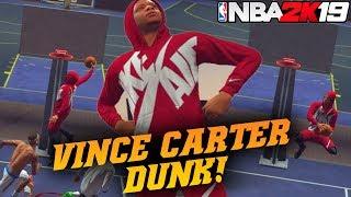 NBA 2K19 Park: Vince Carter Dunk Contest Dunk! Slashers Is Dunking Everything!