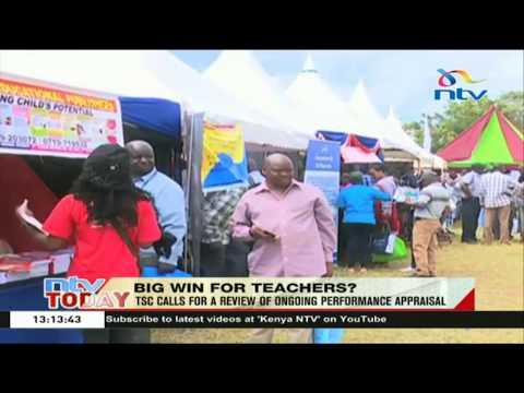 Big win for teachers as TSC calls for a review of ongoing performance appraisal